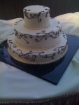 3 Teir Stacked Cake