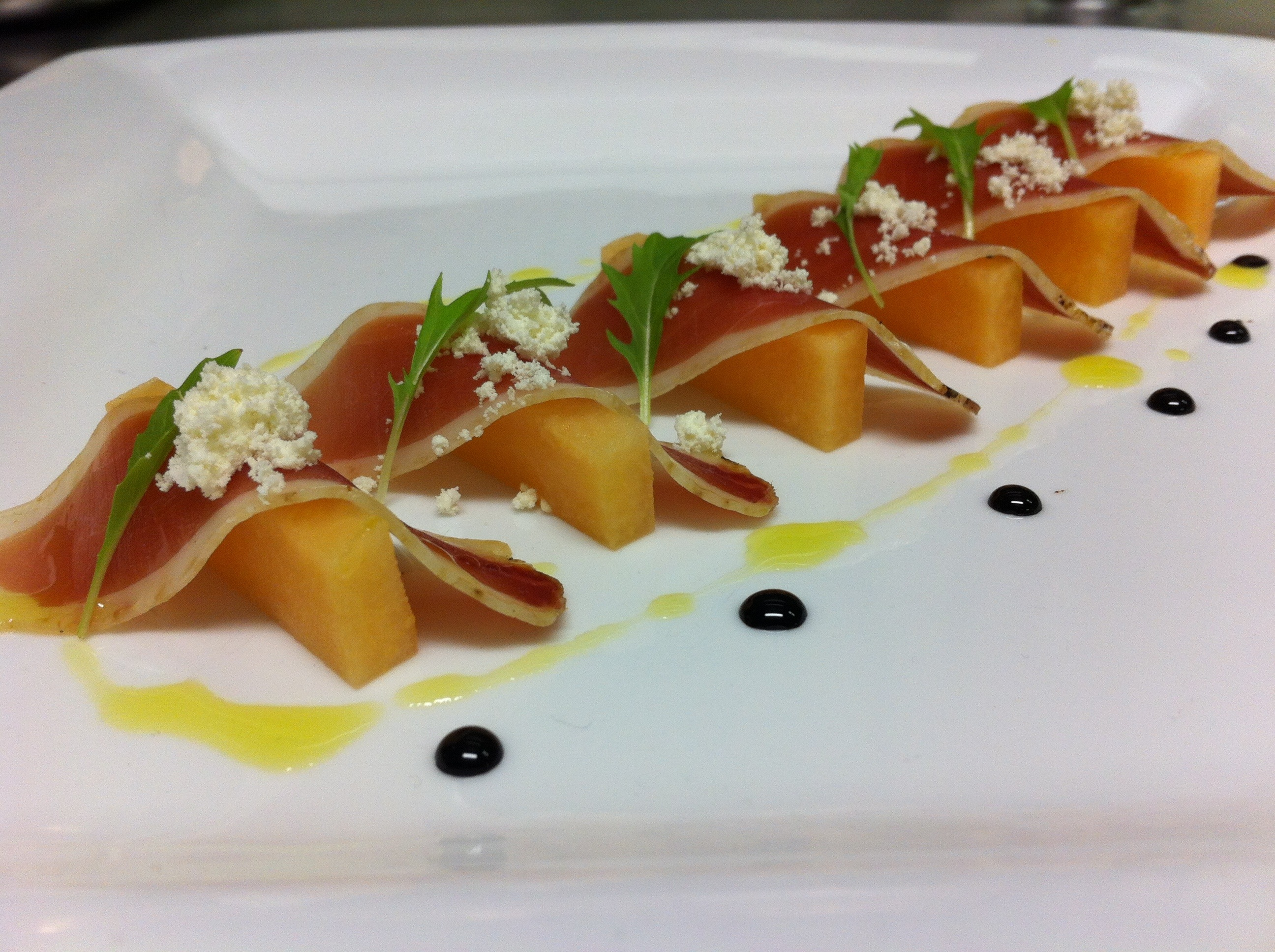 Duck Prosciutto and Melon | AKulinary Blog