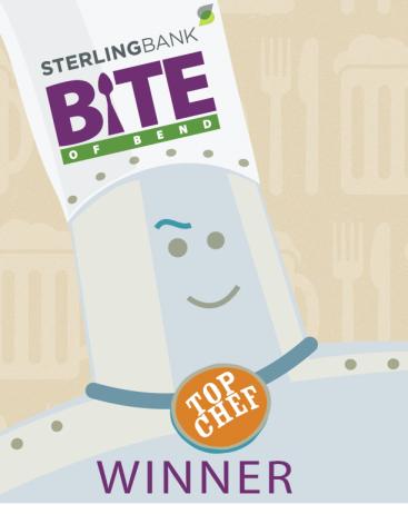 BITE of Bend Winner Logo